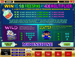 Moonshine Payout Screen 1